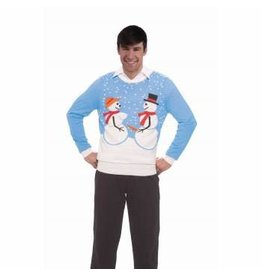 Forum Novelties Inc. Snow Couple Ugly Christmas Sweater