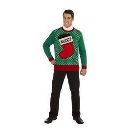 Forum Novelties Inc. Stocking Christmas Sweater