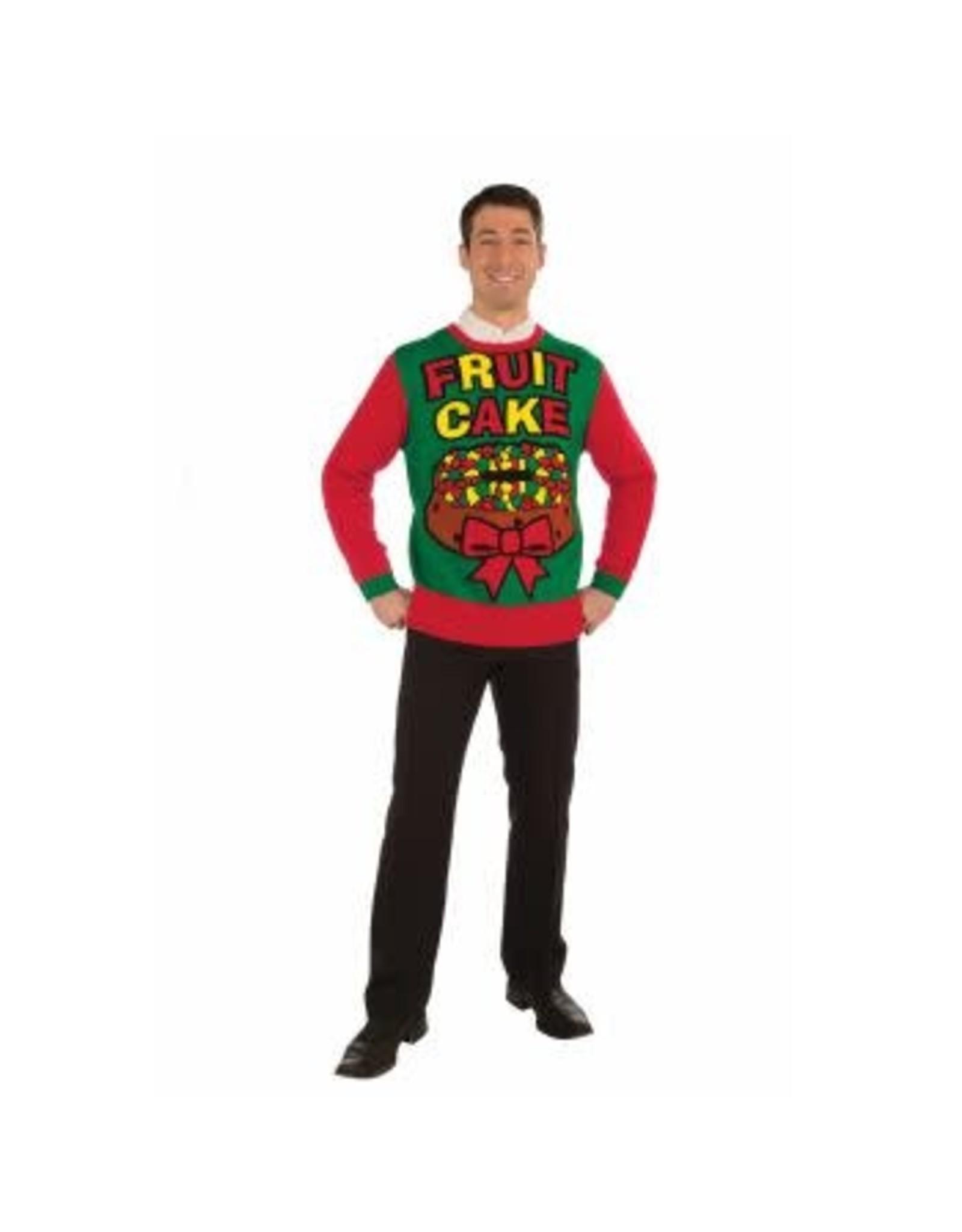 Forum Novelties Inc. Fruit Cake Christmas Sweater