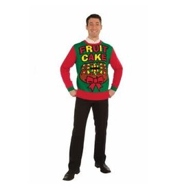Forum Novelties Inc. Fruit Cake Christmas Sweater