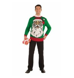 Forum Novelties Inc. Big Santa Christmas Sweater