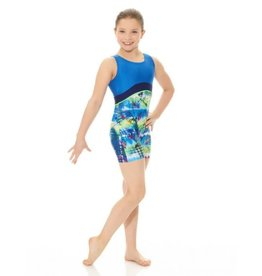 Mondor Children's Techno Blue Unitard