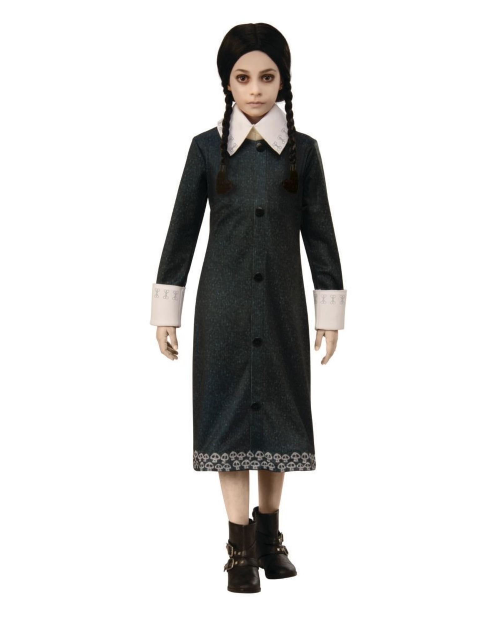 Rubies Costume Children's Animated Wednesday Addams