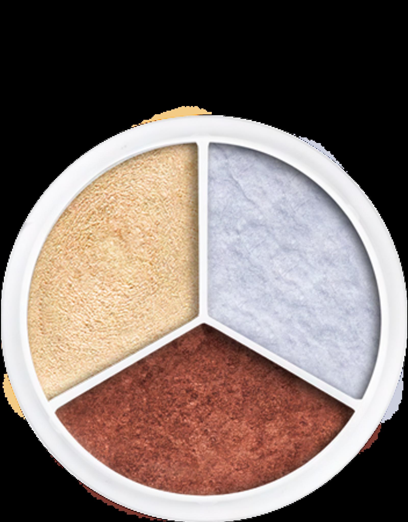 Kryolan Cream Color Metallic Circle