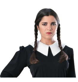 Rubies Costume Wednesday Addams Wig