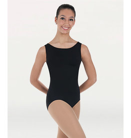 Body Wrappers Tank Leotard - Black