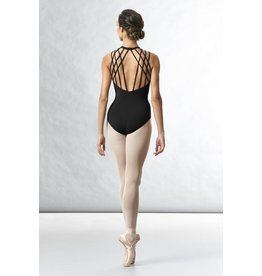 Bloch Rouleau Loop Back Sakura Leotard