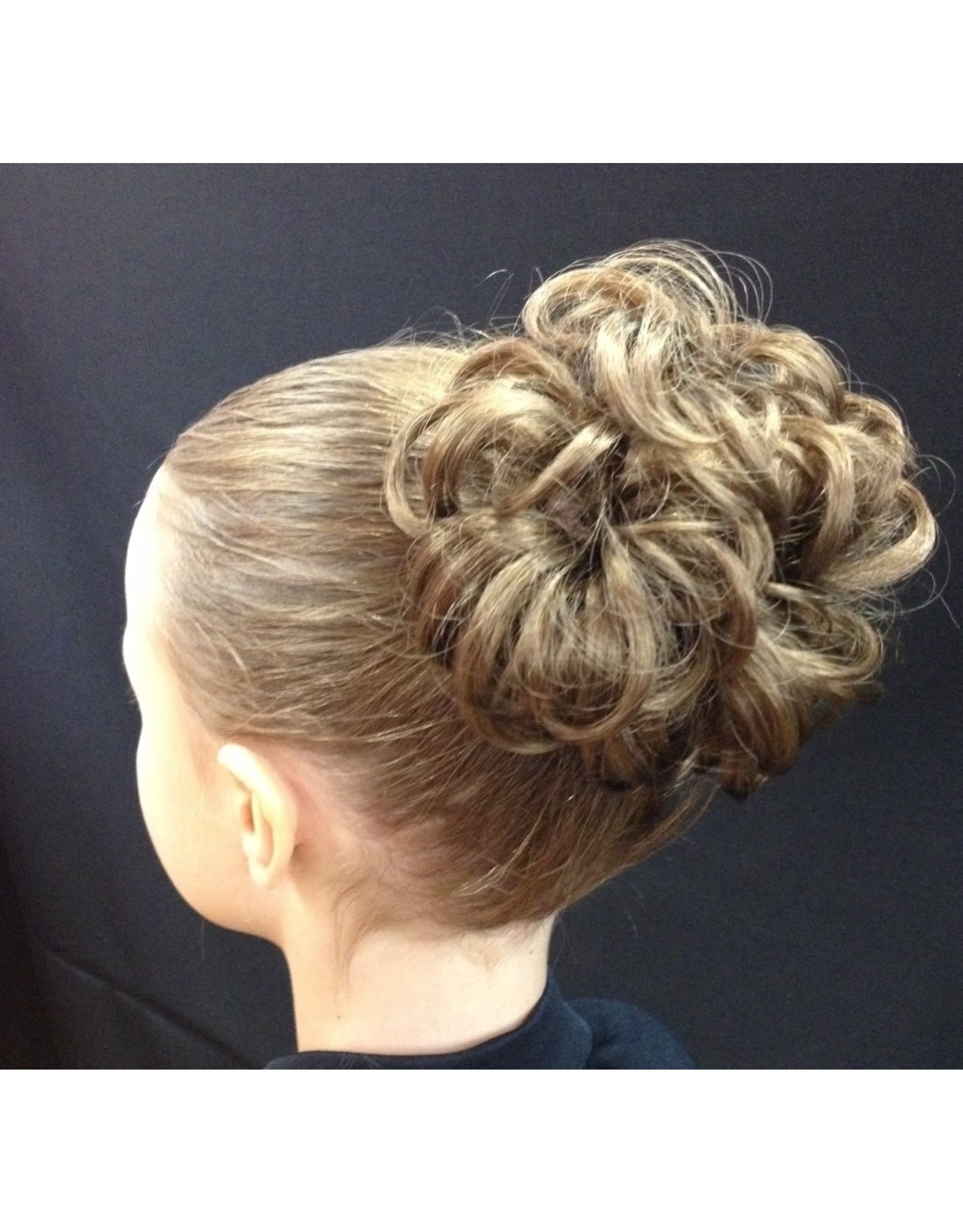 Dancer Hair Do's #83: Bun of Curls Hairpiece