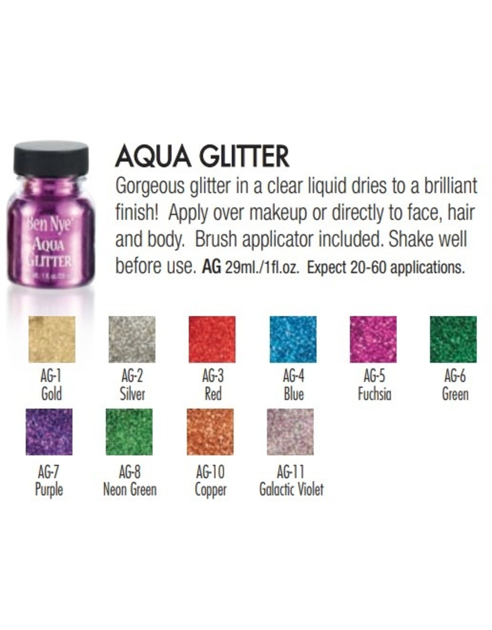 Ben Nye Ben Nye Aqua Glitter