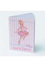Little Ballerina Love to Dance Notebook