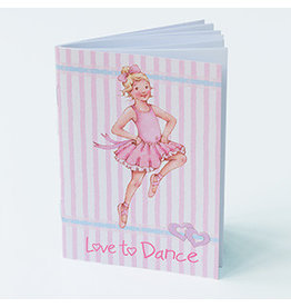 Little Ballerina Love to Dance Notebook