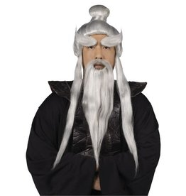 Fun World Sensei Wig and Beard Set