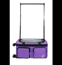 Rac N Roll Rac N Roll 4X dual wheel bag - Purple