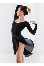 Capezio Georgette Long Wrap Skirt