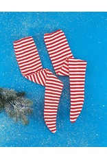 Rubies Costume Red and White Striped Socks