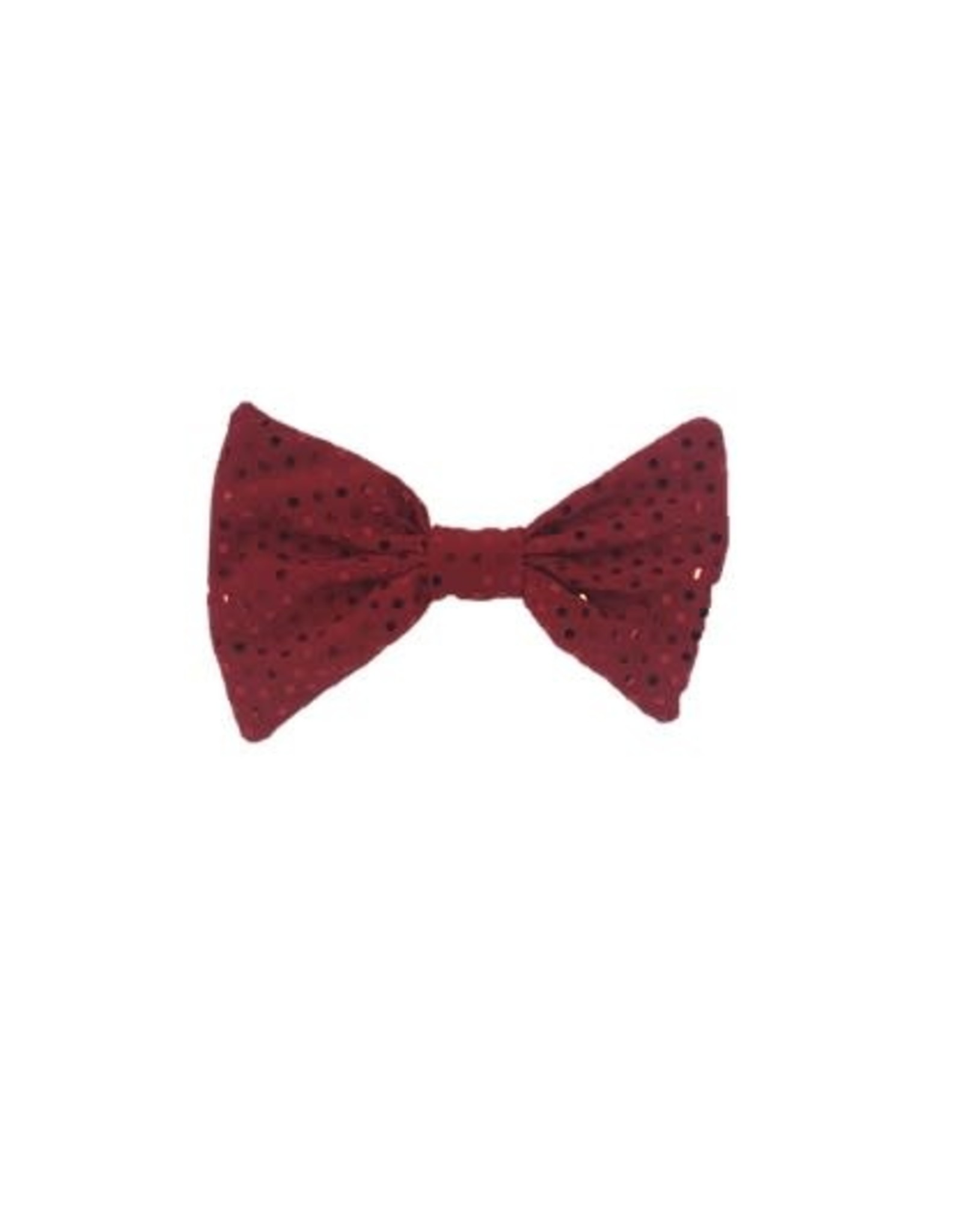 Karries Kostumes Handmade Sparkly Red Bow Tie