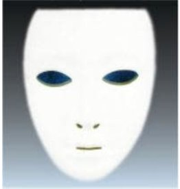 SKS Novelty Plain White Mask