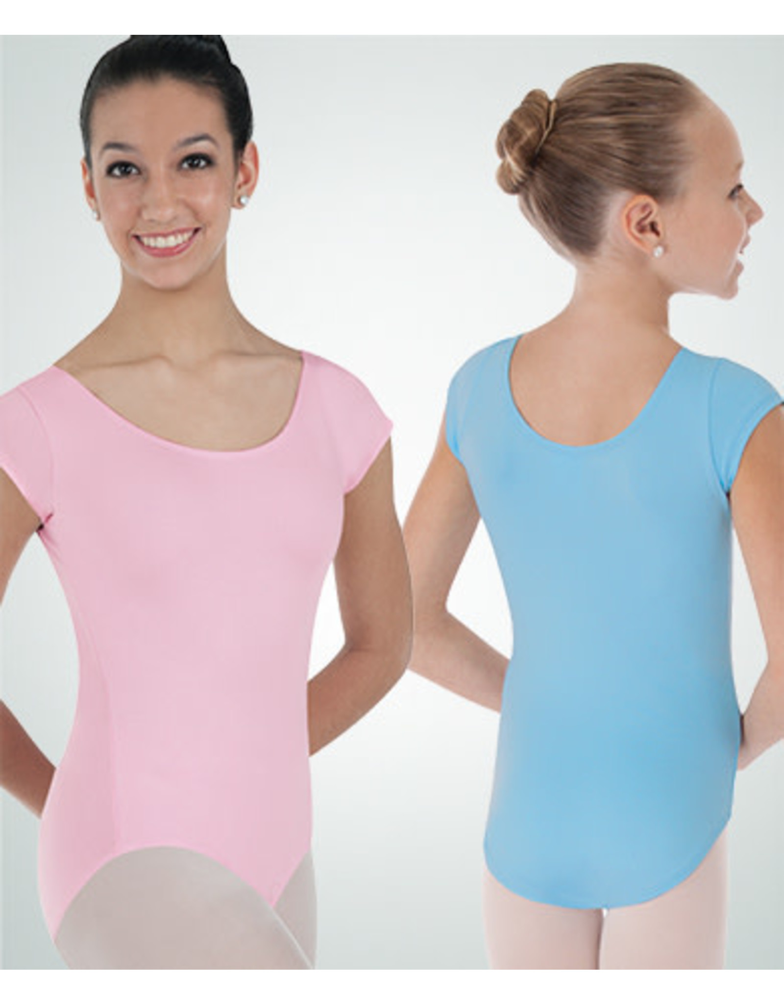 Body Wrappers Cap Sleeve Ballet Cut Leotard