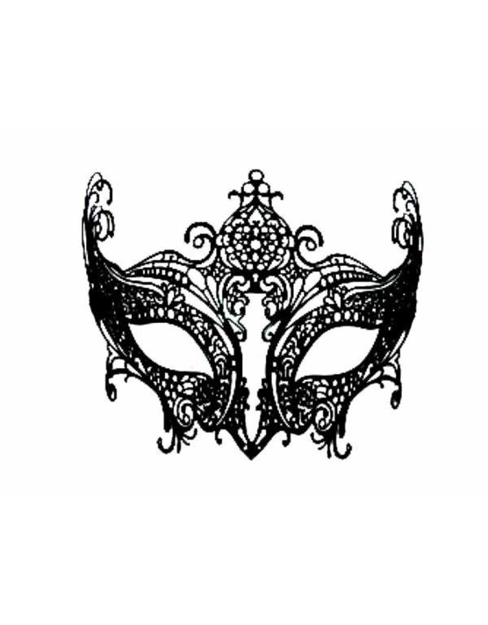 SKS Novelty Metal Face Mask