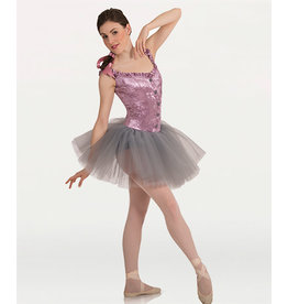 Body Wrappers Tutu w/Metallic Panné Corset