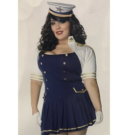 Leg Avenue Ship Shape Captain