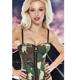 Coquette Army Bustier