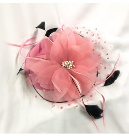 Karries Kostumes Flower and Feathers Fascinator