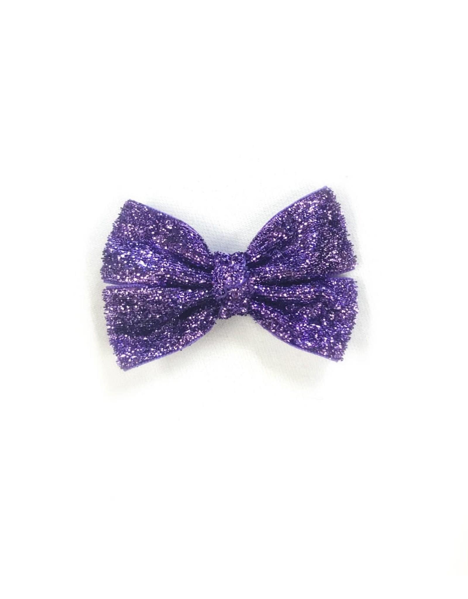 Mimy Design Glitter Hair Bow