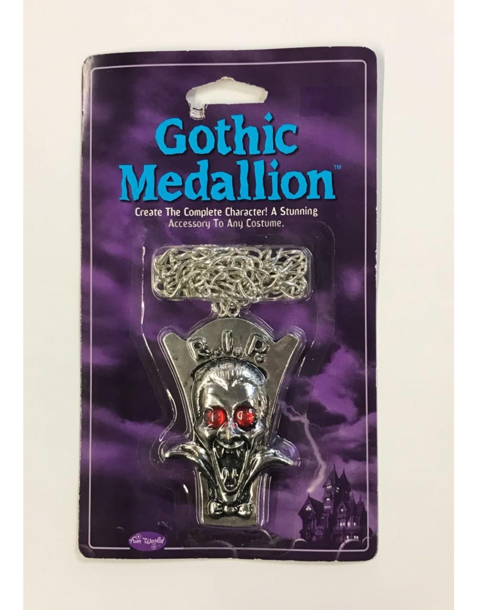 Fun World Gothic Medallion