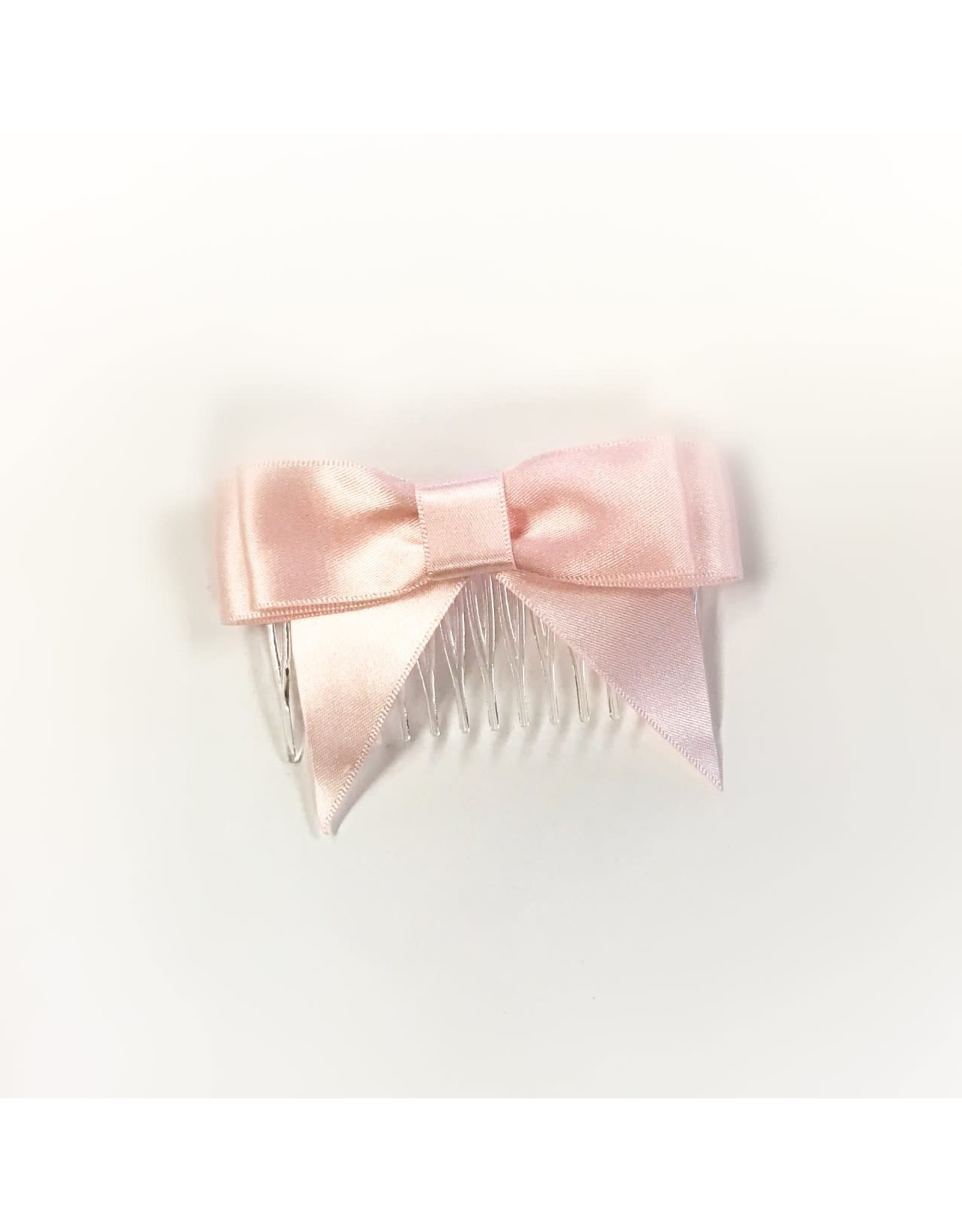 Mimy Design Satin Hair Bow with Comb