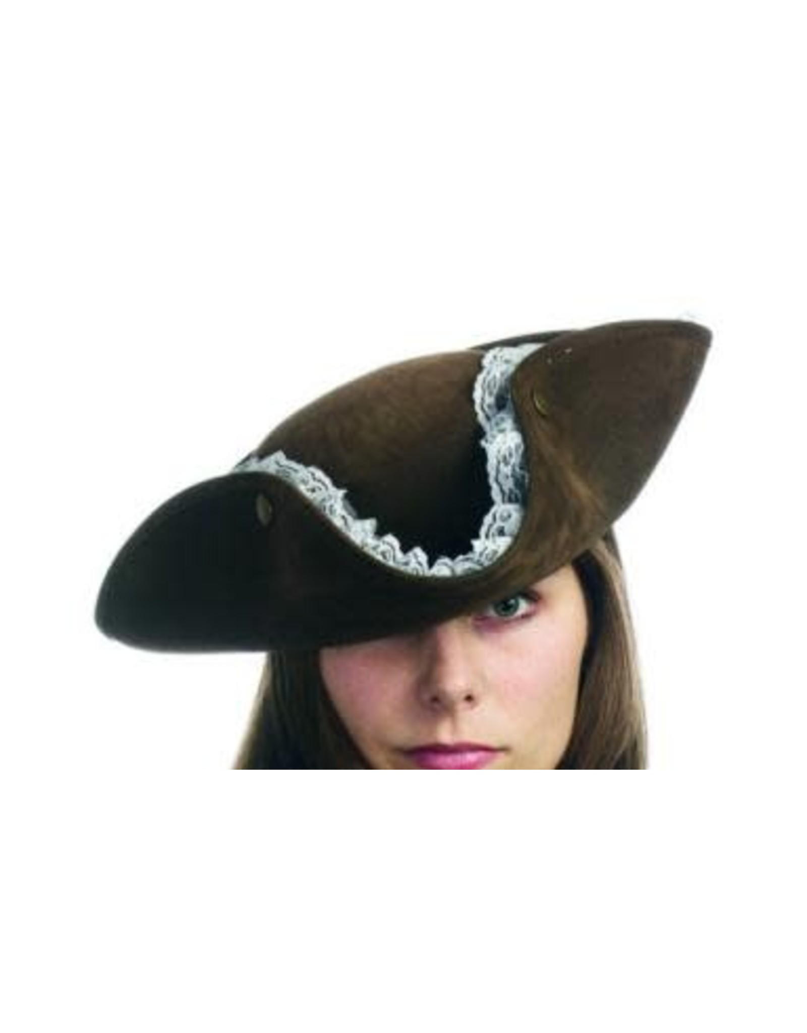 HM Smallwares Leather Like Pirate Hat