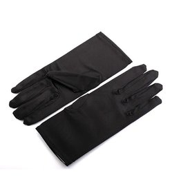 fH2 Short Satin Gloves