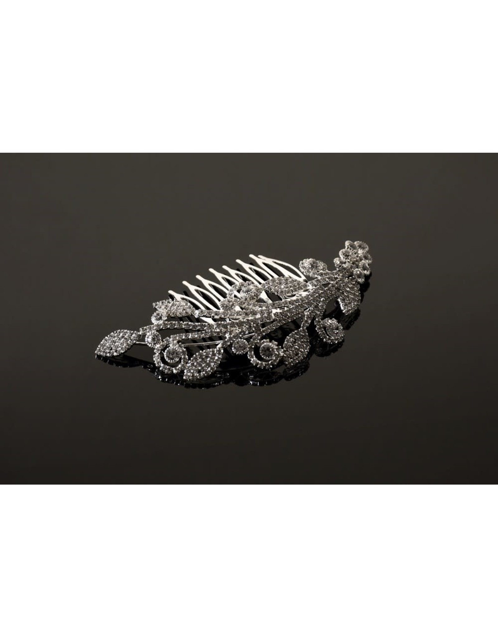 fH2 Crystal Hair Comb
