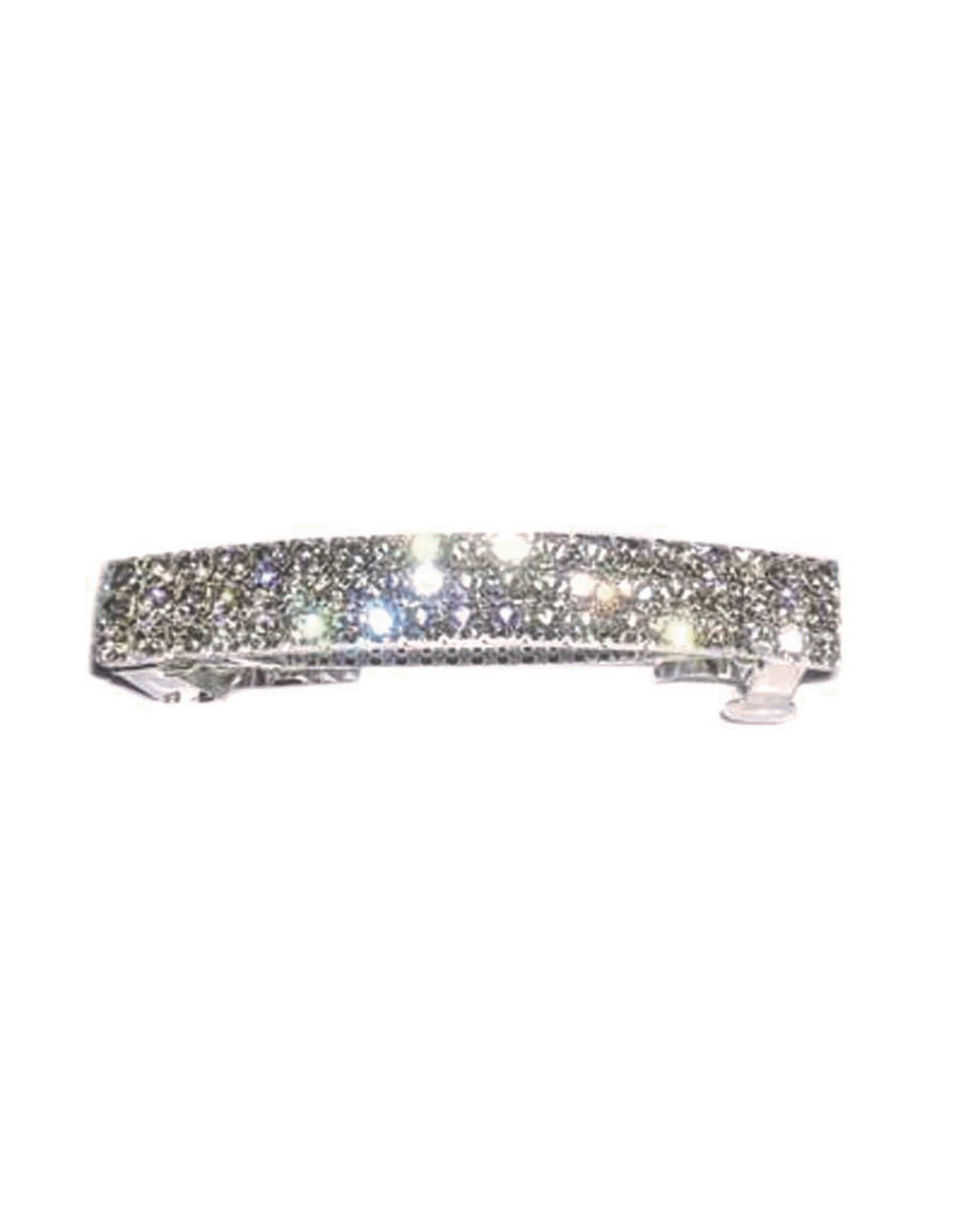 fH2 Multiple Rows Rhinestone Barrette