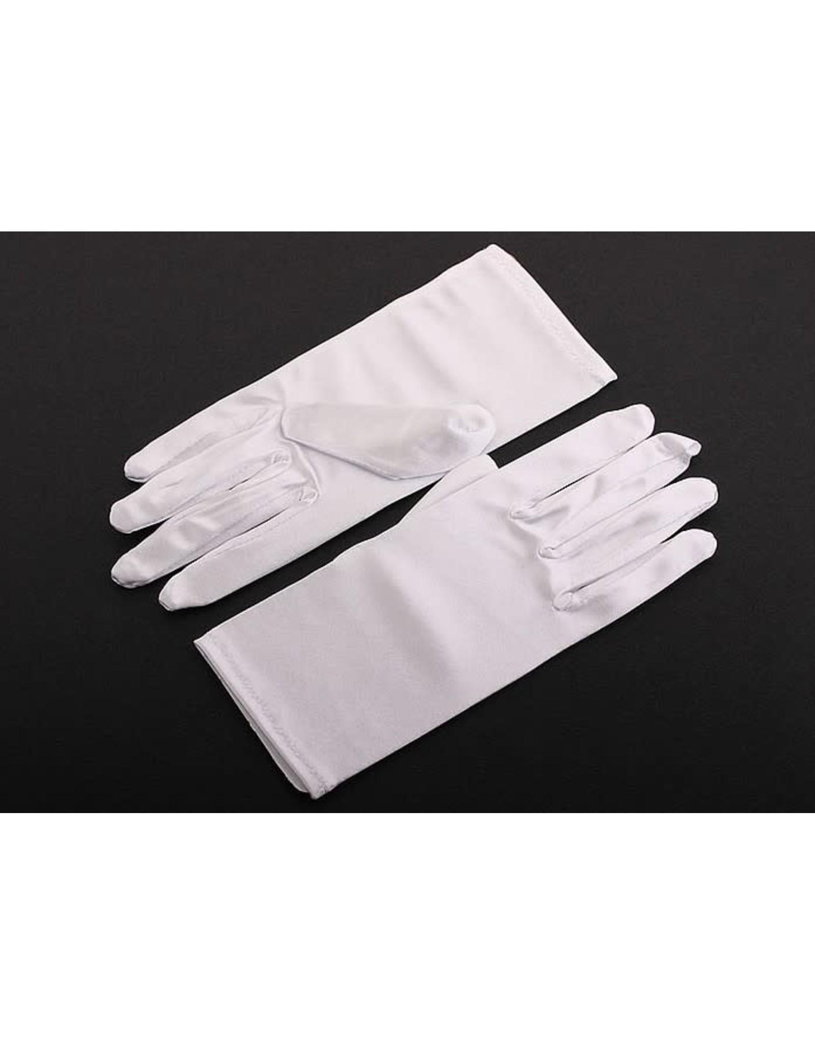 fH2 Short Satin Gloves