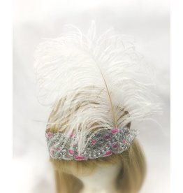 Karries Kostumes Pink and Silver 1920's Headband