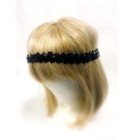 Karries Kostumes Black Sequin Headband