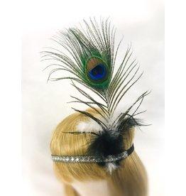 Karries Kostumes 1920's Crystal Peacock Headband