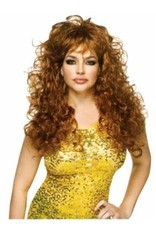 Fun World Seduction Wig - Brown
