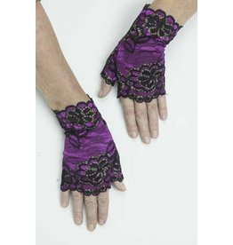 Fun World Lacy Mitts - Purple
