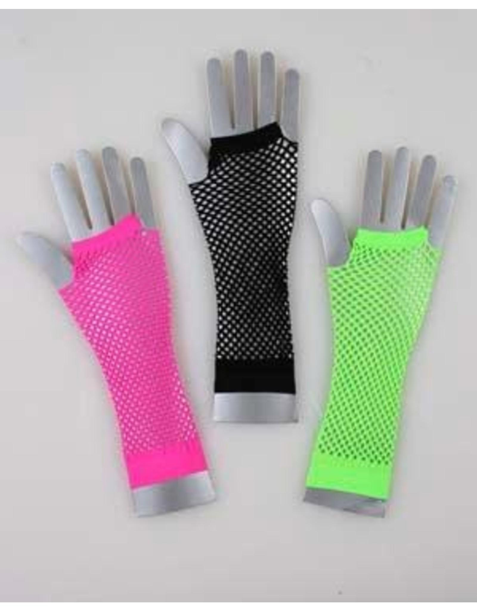 Fun World Long Fishnet Gloves