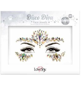 LoveShy Cosmetics Disco Diva Face Jewels
