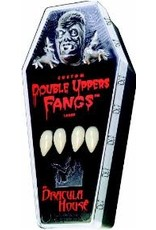 Foothills Fangs Dracula Fangs Double Upper Set - Large