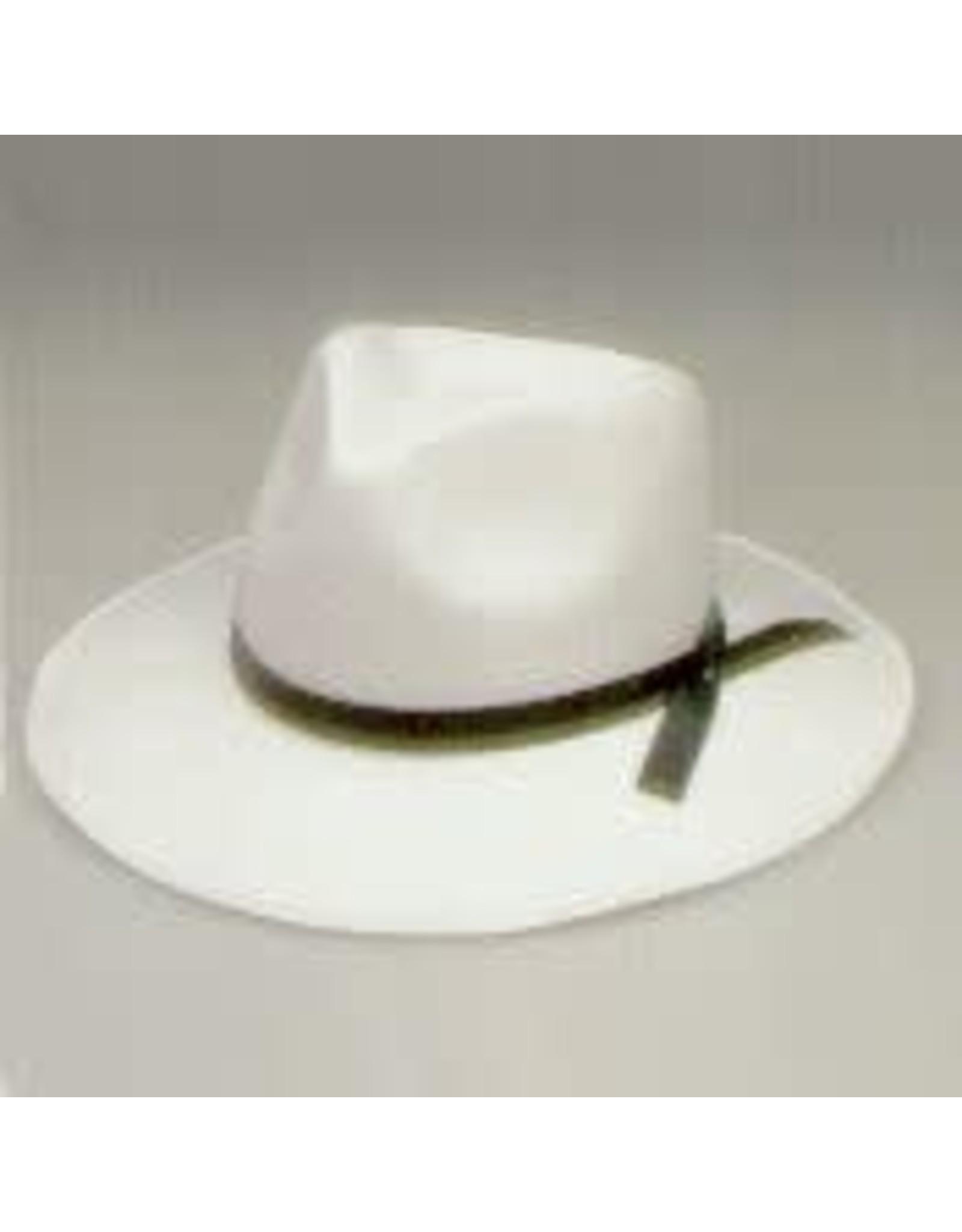 SKS Novelty Permafelt Gangster Hat White