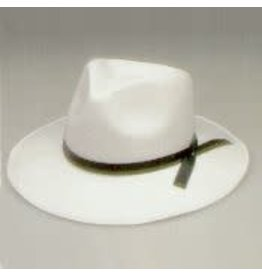 SKS Novelty Permafelt Gangster Hat White