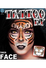 Tinsley Transfers Tiger Face Tattoo
