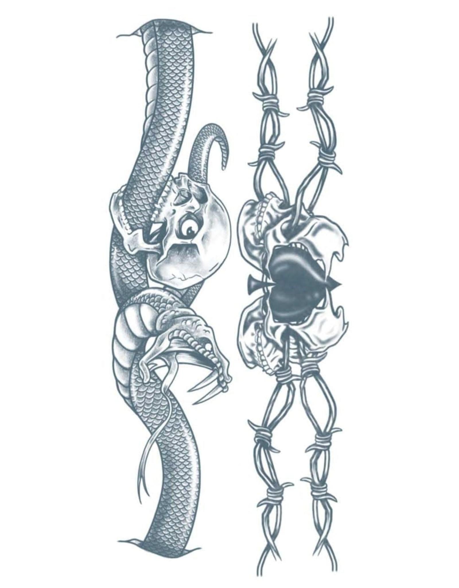 Tinsley Transfers Snake Temporary Tattoo