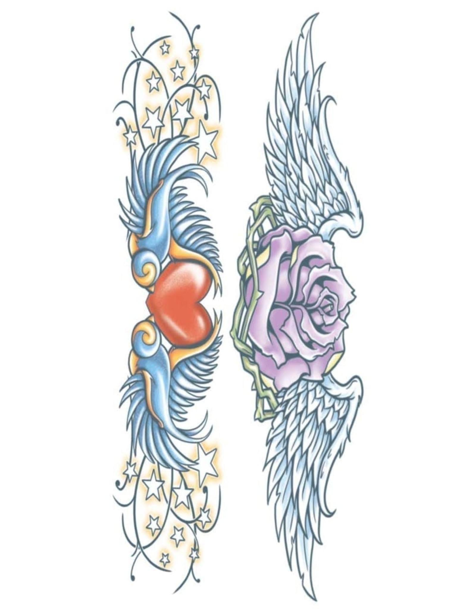 Tinsley Transfers Swallows Temporary Tattoo