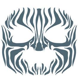 Tinsley Transfers Zebra Face Tattoo