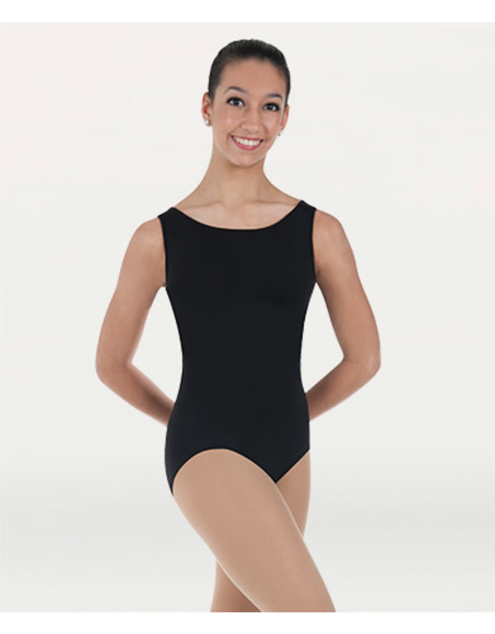 Body Wrappers Tank Leotard - Pink